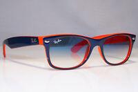 RAY-BAN Mens Womens Sunglasses Blue Rectangle NEW WAYFARER RB 2132 789/3F 22474