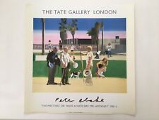 PETER BLAKE,'HAVE A NICE DAY MR  HOCKNEY',AUTHENTIC 1985 TATE GALLERY PRINT