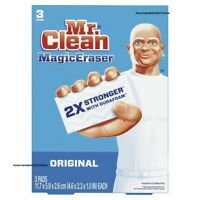 Mr Clean 43515 Magic Eraser Original Cleaning Sponges 3 PADS