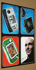 Sega Saturn / Tiger Game.com / Gmaepark GP32 / Peter Molyneux  Rare Card Set