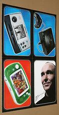 Sega Saturn / Tiger Game.com / Gmaepark GP32 / Peter Molyneux  Rare Card Set