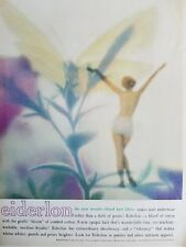 1959 women's Eiderlon underwear panties vintage fashion ad