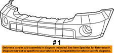 CHRYSLER OEM 07-09 Aspen-Bumper Cover 68002921AC
