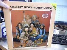 Grandpa Jones Family Album double vinyl LP 1979 CMH Records EX