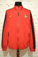 ARSENAL LONDON FOOTBALL TRAINING TOP JACKET SOCCER MENS XL NIKE RED