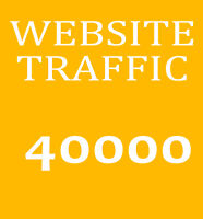 40.000 Besucher-Traffic - Bewerbung ihrer Website - Marketing und Promotion Top