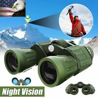 US 60x50 Zoom HD Military Army Powerful Binoculars Optics Hunting Camping Hiking