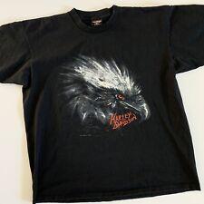 New listing Vintage Harley Davidson Eagle T Shirt 90s Holoubek Los Angeles Ca Men's Xl