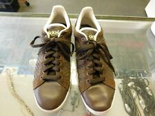 size 40 a8573 d7ab3 Adidas men size 11.5 brown leather  suede low top free shipping
