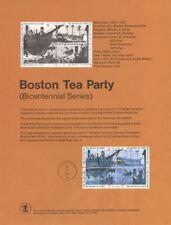 #7311 8c Boston Tea Party #1480-83 Souvenir Page