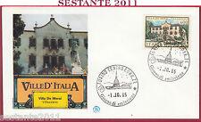 ITALIA FDC FILAGRANO VILLE D'ITALIA VILLA DE MERSI VILLAZZANO 1985 TORINO Y909