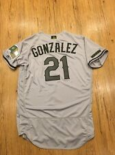 Chi Chi Gonzalez Memorial Day Issued Jersey Texas Rangers Non Used