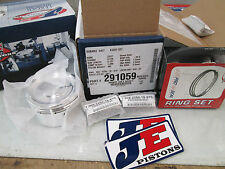JE 8.5:1 99.5mm Piston Set for the Subaru Hybrid EJ257 Engine with EJ20 Heads