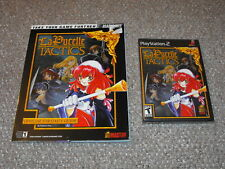 La Pucelle: Tactics Playstation 2 New with Strategy Guide PS2