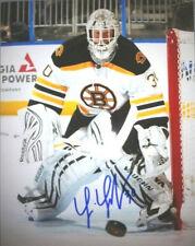 Tim Thomas Boston Bruins signed  2011 game action 16x20