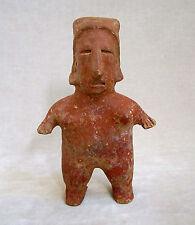 Pre-Columbian JALISCO STANDING FEMALE FIGURE, ca. 300 BC - AD 300