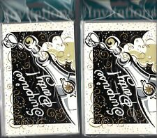 """Surprise Party"" Invitations 16 Cards & Envelopes - 4"" x 6"" Pop a Cork New"