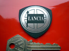 LANCIA SHIELD SHAPE Self Adhesive Car Badge Race Rally Stratos Integrale Fulvia
