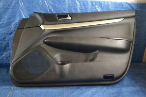 2007 - 2008 INFINITI G35 SEDAN FRONT RIGHT PASSENGER SIDE DOOR PANEL # 20926
