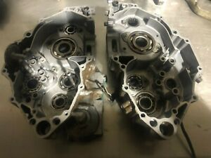 Yamaha WR 450 crank cases motor engine 03 04 05 06 07 08 09 10 11 12 13 14 15