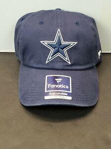 New DALLAS Cowboys NFL Football Fanatics Pro Line Adjustable Cap Hat Authentic