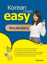 Korean made Easy Vocabulary w/ CD Free Ship 9788927731177