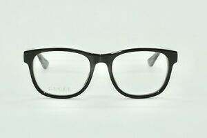 Brand New Mens Black Gucci Glasses Model GG0004O Gucci Case with free SV lenses