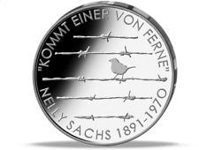 """Deutsche 20-Euro-Gedenkmünze """"125. Geburtstag Nelly Sachs"""""""