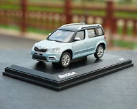 1/43 VW Volkswagen Skoda Yeti SUV Blue Diecast Car Model Collection