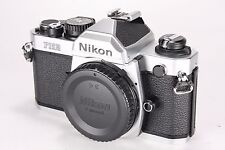 Nikon FM2N 35mm SLR Film Camera Body in Silver * Excellent *