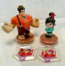 Disney Infinity 1.0 Wreck-it Ralph, Vanellope and power disc lot - OOP and RARE