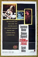 """Alcoholic School Teacher & Court Room Drama in """"TERM OF TRIAL"""" - Movie Poster"""