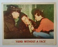 FIEND WITHOUT A FACE 1958 Original Lobby Card Horror Sci-Fi