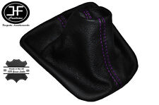 PURPLE STITCHING FITS VW NEW BEETLE 1998-2005 LEATHER GEAR GAITER CUSTOM MADE