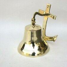 """7"""" Brass Anchor Bell ~ Nautical Bell ~ Anchor Bell ~ Pirate ~ Maritime ~ Bell"""