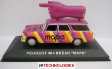 Voitures miniatures Peugeot, 1:43