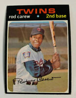 1971 Rod Carew # 210 Minnesota Twins Topps Baseball Card HOF