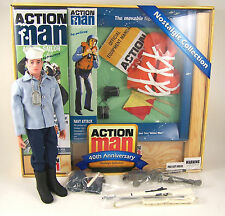 """Action Man 40th Anniversary Navy Attack Set (includes figure) 12"""" 1:6 AM40-NAVY"""