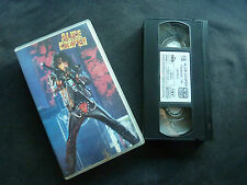 ALICE COOPER TRASHES THE WORLD RARE PAL VHS VIDEO!