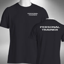 Personal Trainer Men's T-Shirt Gym Instructor Wear Training Fitness Workout Top