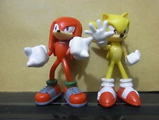 Sonic the Hedgehog Brand New -A Pair Action Figures -2.5""