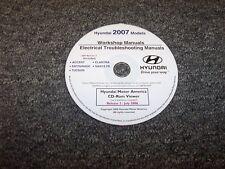 2007 Hyundai Accent Electrical Wiring Diagram & Shop Service Repair Manual DVD