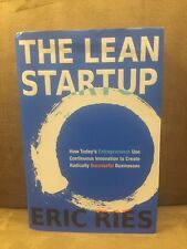 The Lean Startup by Eric Ries (2011, Hardcover)!