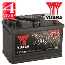 Yuasa Car Battery Calcium 12V 650CCA 75Ah T1 For Audi A3 8P 2.0 TDI 140 DPF