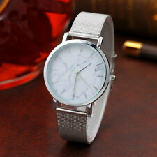 Popular Women Classic Analog Stainless Steel Band Casual Quartz Wrist Watch