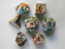 Chessex Polydice Set - Festive Vibrant/brown
