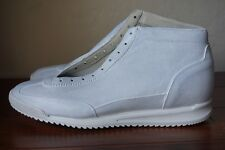 NEW WITH BOX | MAISON MARTIN MARGIELA US 12 45 PAINT PAINTED WHITE BLUE SNEAKERS