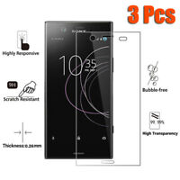 3 Pcs Tempered Glass Screen Protector For Sony Xperia XZ2 Compact XA1 L2 XA2 XZ1