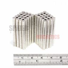 1000 Magnets 4x1.5 mm Neodymium Disc strong small craft magnet 4mm dia x 1.5mm