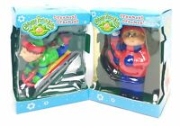 Cabbage Patch Kids Christmas Set Of 2 Ornaments Snowball & Sled Boy *FREE SHIP!*